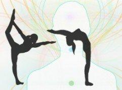 Foto yoga-bewegingen, van de Osteopraktijk in Amsterdam, behandeling van bewegingsbeperkingen van botten, spieren, bloedvaten, ingewanden.